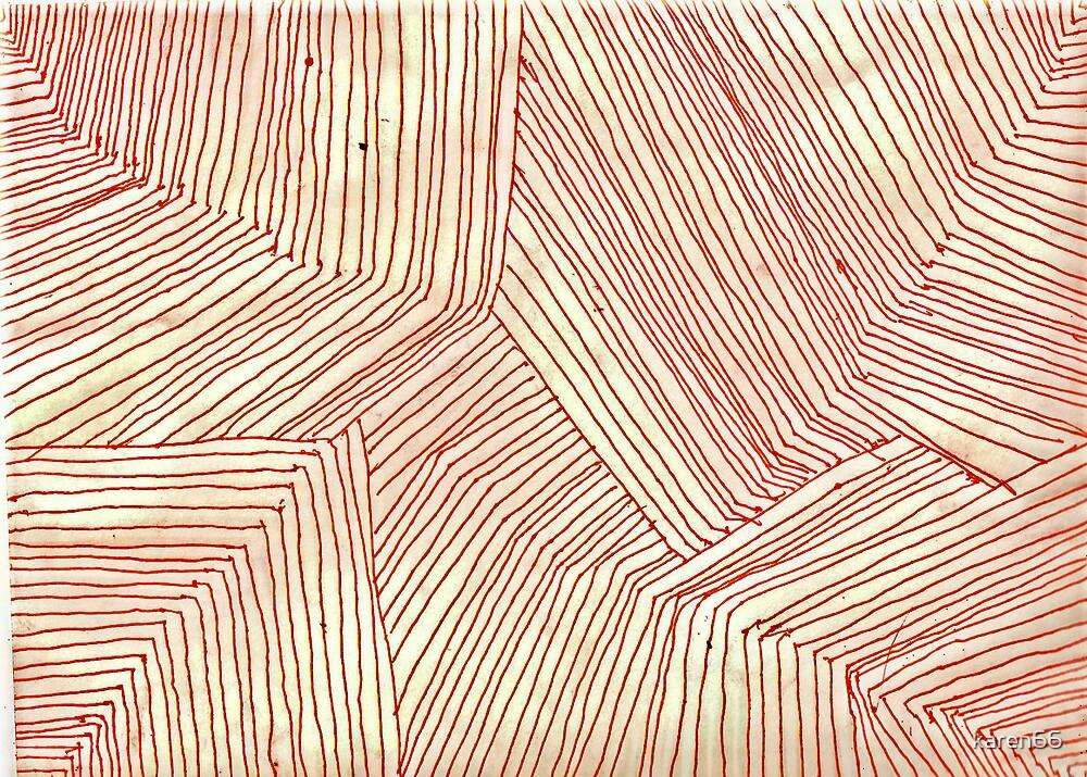 The Orange Lines Meet by karen66