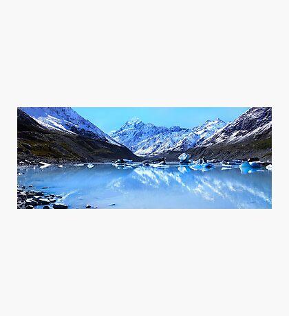 Mt Cook Blues Photographic Print