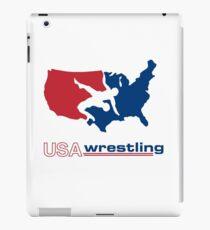 USA Wrestling iPad Case/Skin
