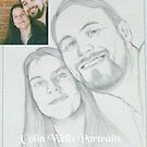 pencil portrait 4 by Colin Wells