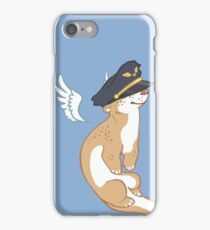Otter on the Flight Deck iPhone Case/Skin