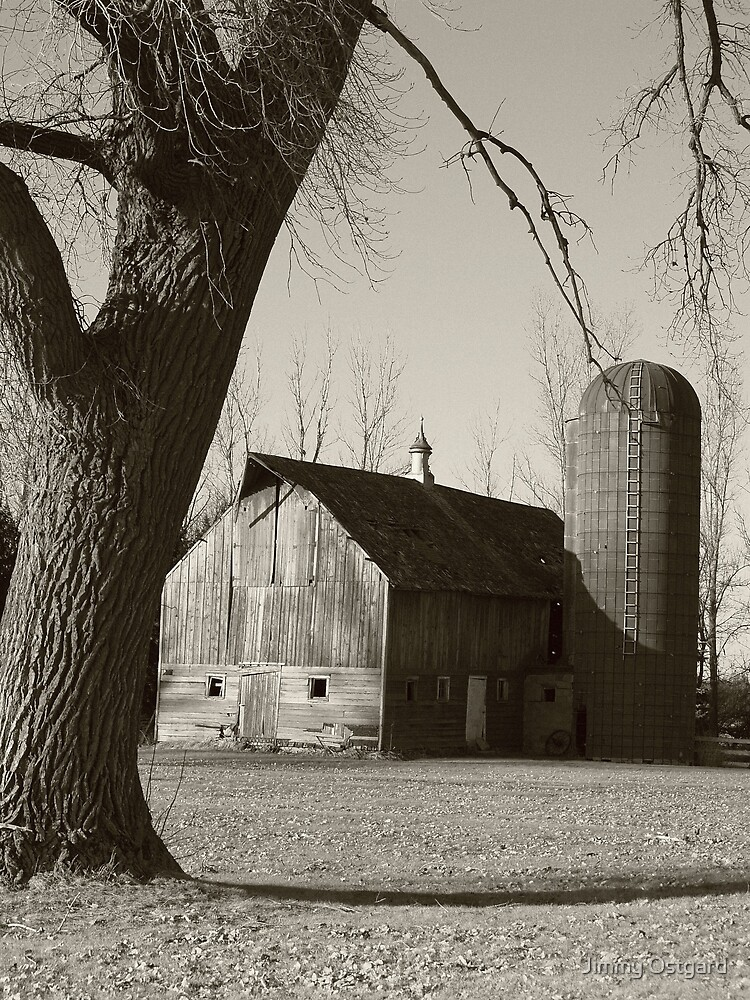 Barn by Jimmy Ostgard