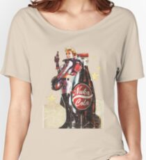 Nuka-Cola pin-up 2  Women's Relaxed Fit T-Shirt