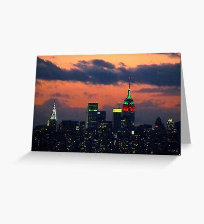New York City Christmas Greeting Card