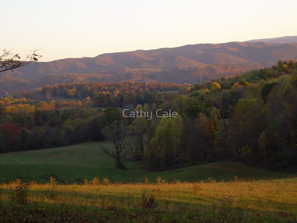 Wavy Mountains by Cathy Cale