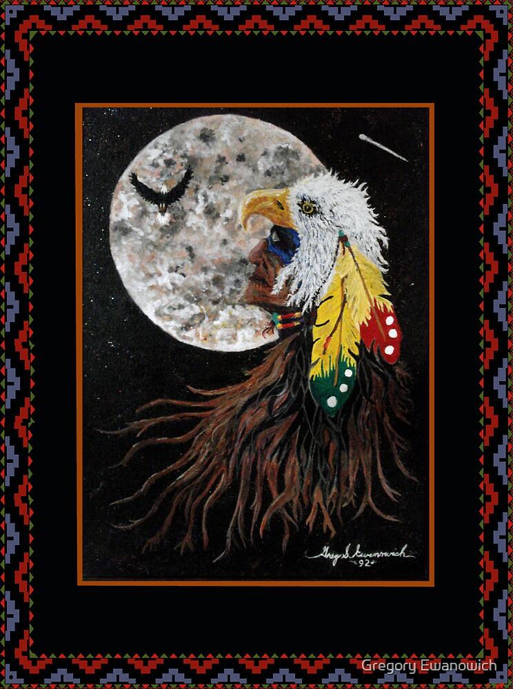 Eagle Moon by Gregory Ewanowich