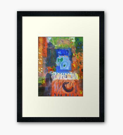 city #10 Framed Print