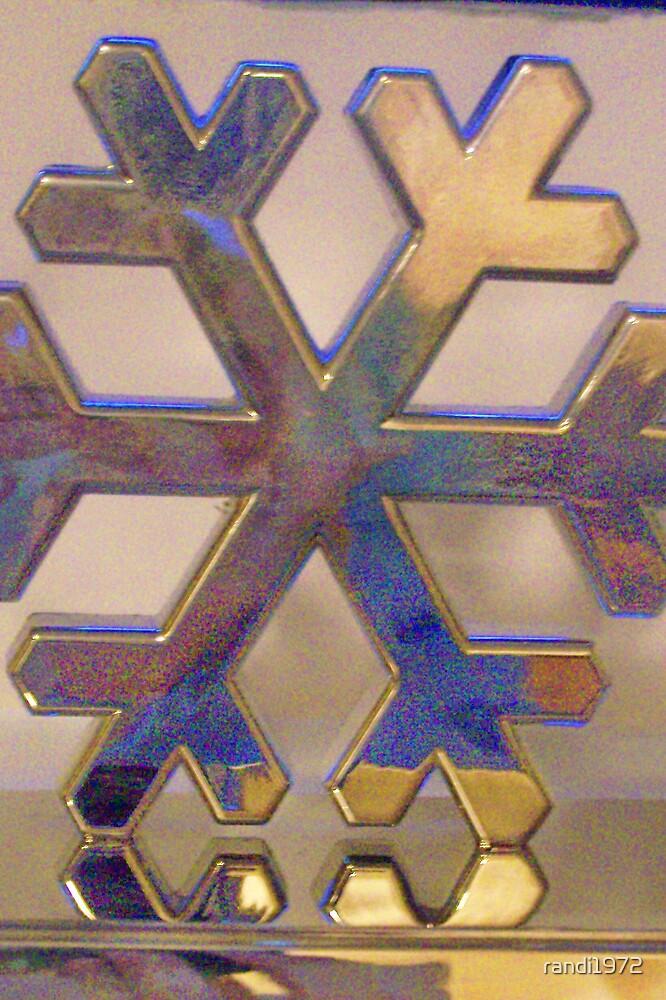 Silver snowflake by randi1972