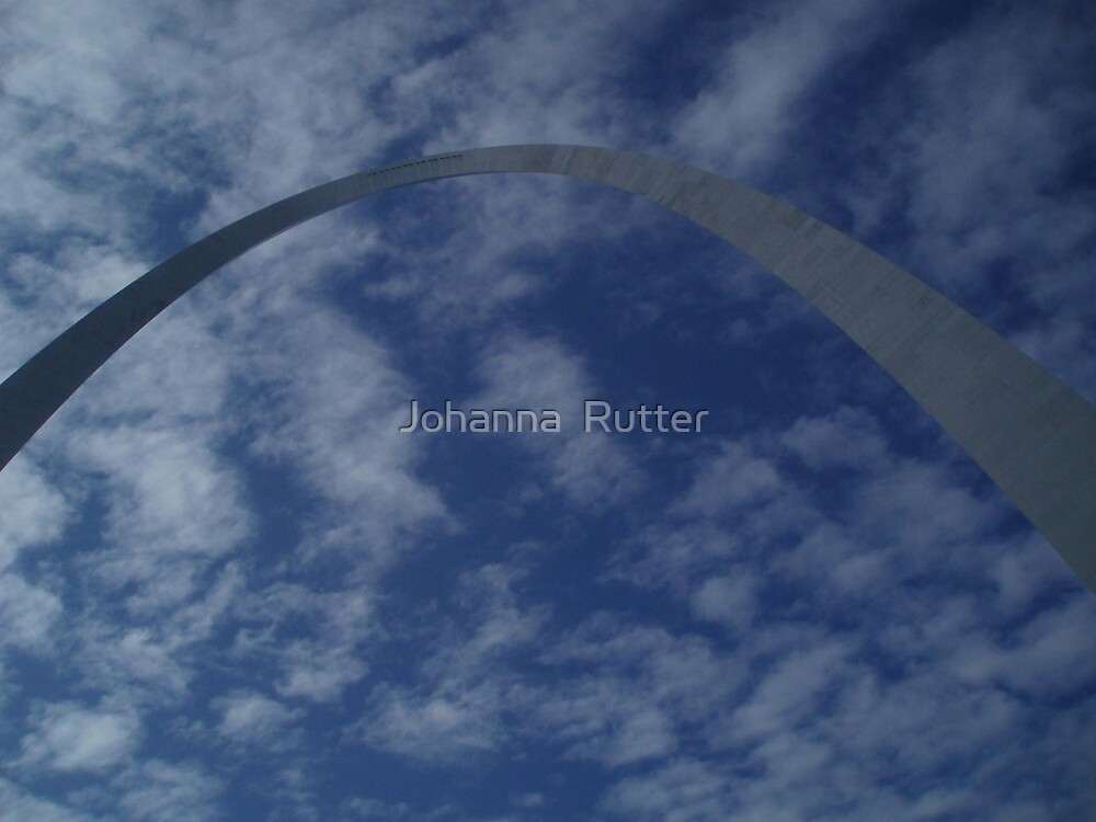 The Arch in st.louis by Johanna  Rutter