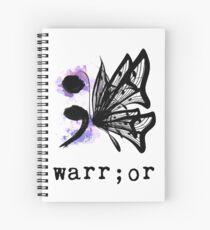 Cuaderno de espiral Mariposa Semicolon