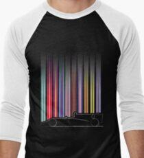 Race Car Profile 2017 Men's Baseball ¾ T-Shirt