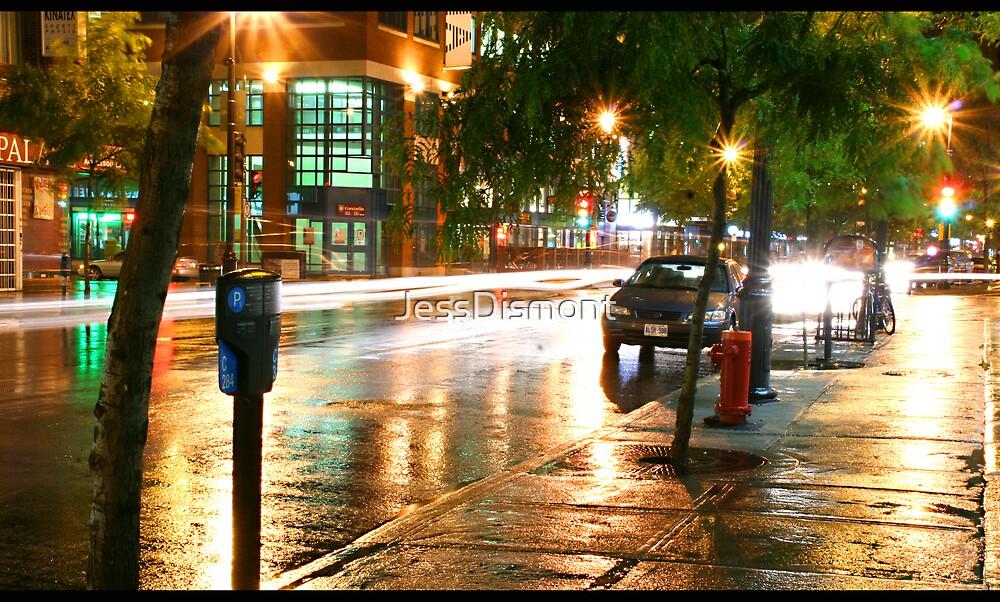 Fast. Wet. (BLACK BORDER) by JessDismont