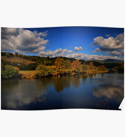 looking back at Autumn Poster