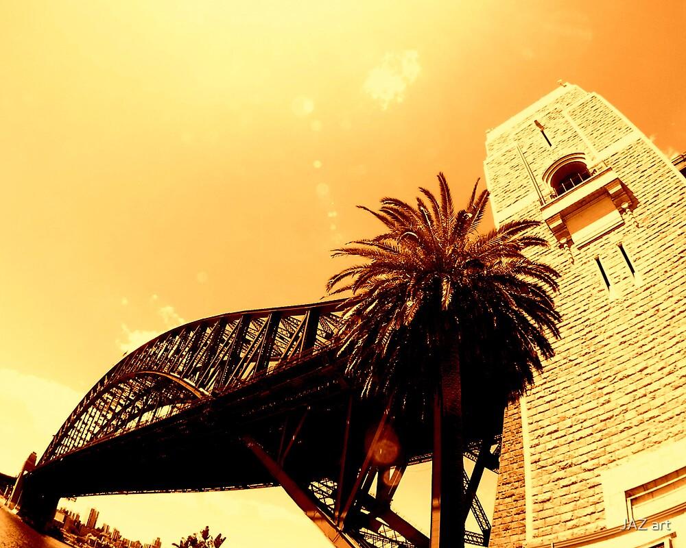 sydney harbour bridge... by JAZ art