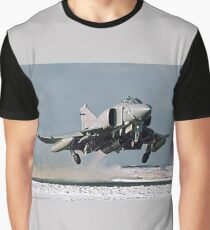 Phantom FGR.2 XV466/E taking-off at Stanley Graphic T-Shirt