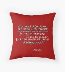 Pimpernel!  Throw Pillow
