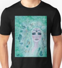 Issiana Mermaid with seahorses by Renee L Lavoie Unisex T-Shirt