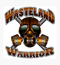 Wasteland Warrior Photographic Print