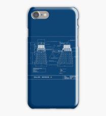 Exterminate Schematic iPhone Case/Skin