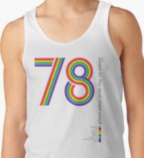 Pride Flag 1978: Gilbert Baker Tribute Tank Top