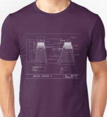 Exterminate Schematic Unisex T-Shirt