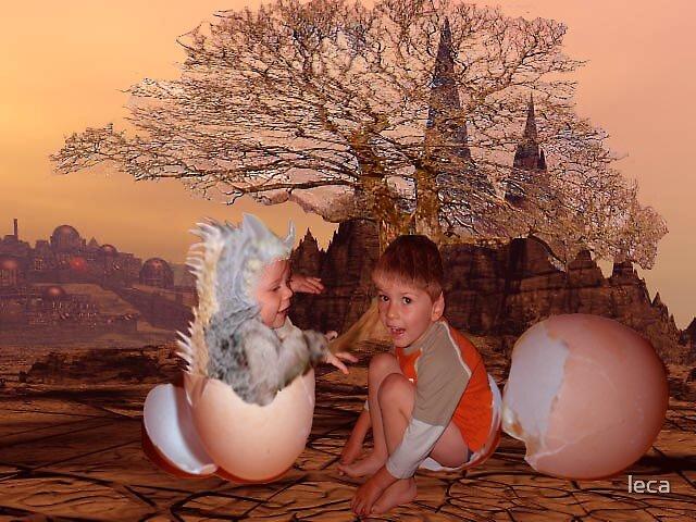 A Mars Birth by leca