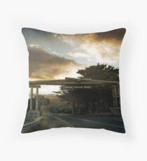 Great Ocean Road Throw Pillow