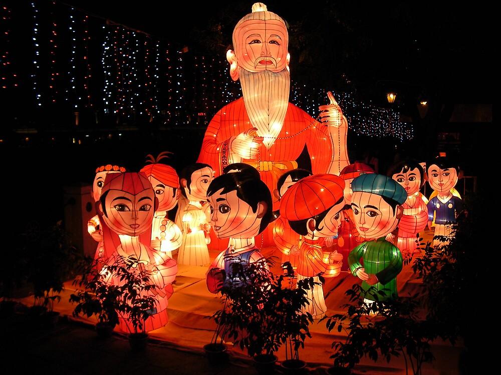 Singapore Lantern Festival by Katie76