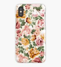 Sunny Floral - Ivory iPhone Case