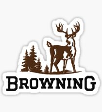 Browning Firearms Deer Sticker