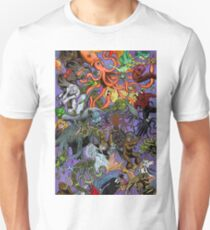 Cryptid Creatures and Mysterious Monsters Unisex T-Shirt