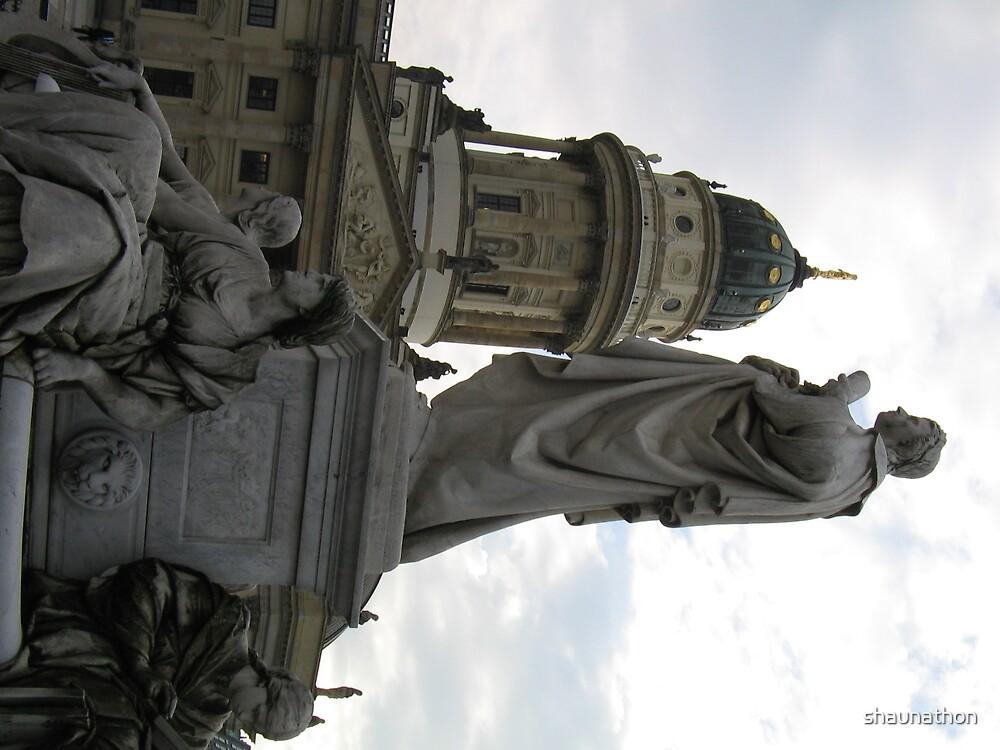 Monument, Berlin by shaunathon