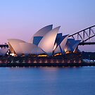 Sydney Opera House at Dusk by Gino Iori