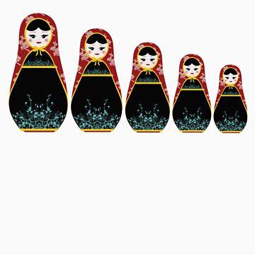 matryoshka by littlegirllost
