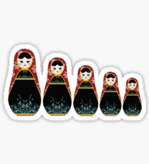 matryoshka Sticker