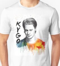 Colorful fanmade portrait of Kygo Unisex T-Shirt