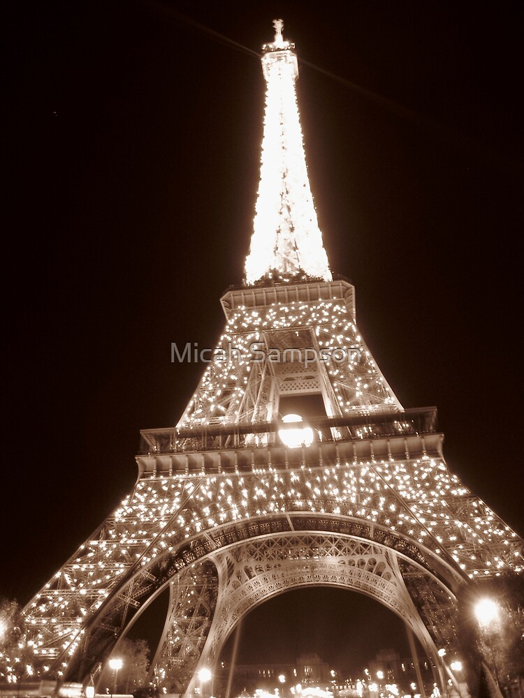 Eiffel Tower by Micah Sampson