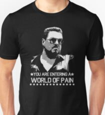 The Big Lebowski World of Pain Funny Movie Funny Cotton T-Shirt