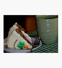 Carrot Cake Photographic Print