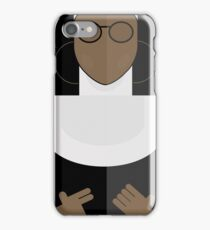 Sister Act, Whoopy Goldberg, movie poster, illustration, fine art print iPhone Case/Skin