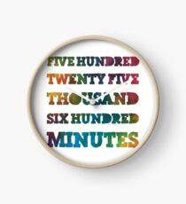 Miete - Jahreszeiten der Liebe Rainbow Gradient Uhr