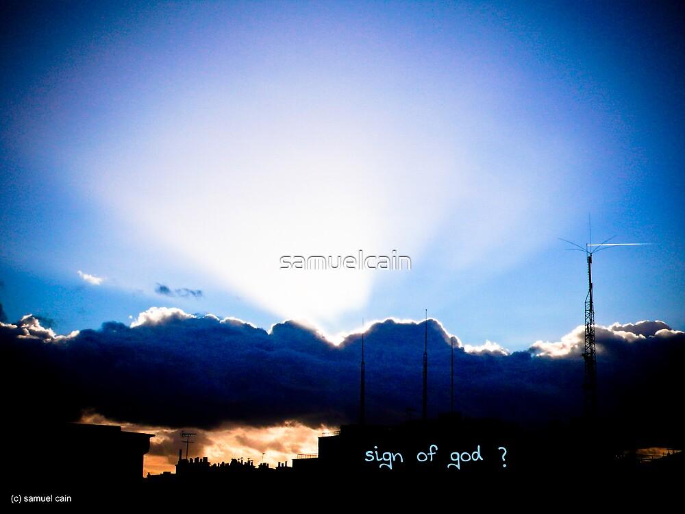 Sign of god by samuelcain
