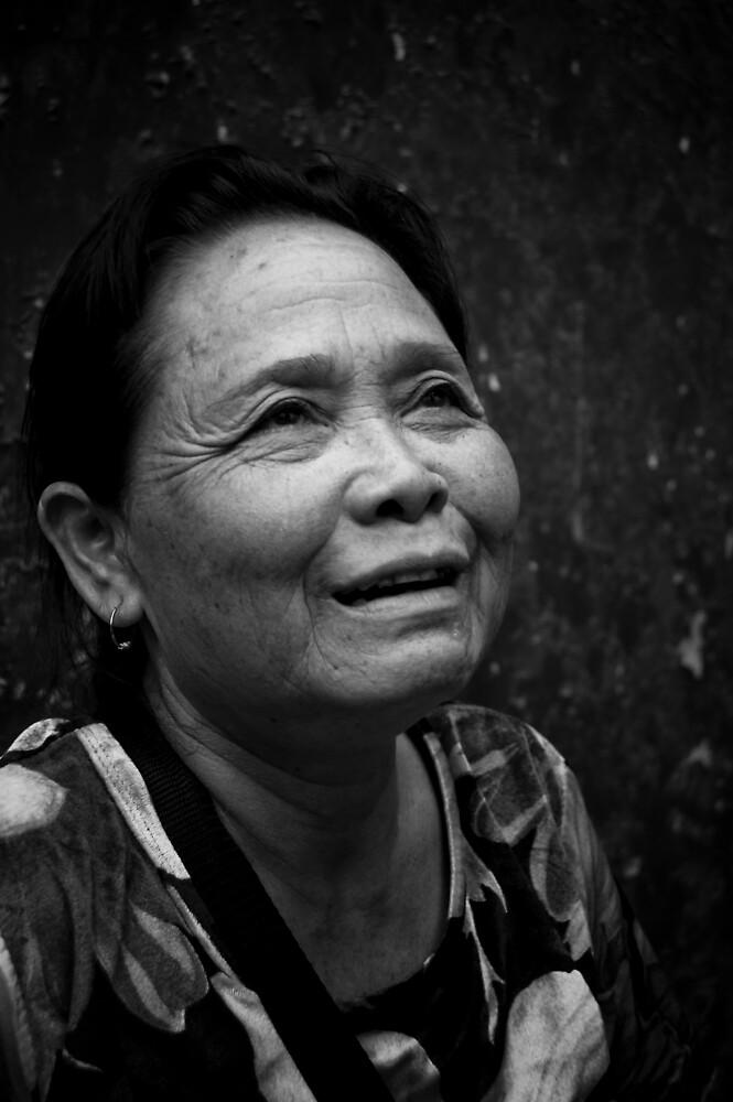 Happy Stall woman by fero