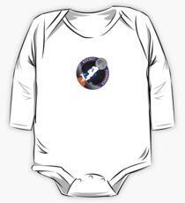 Rocket Powered Mission Patch One Piece - Long Sleeve