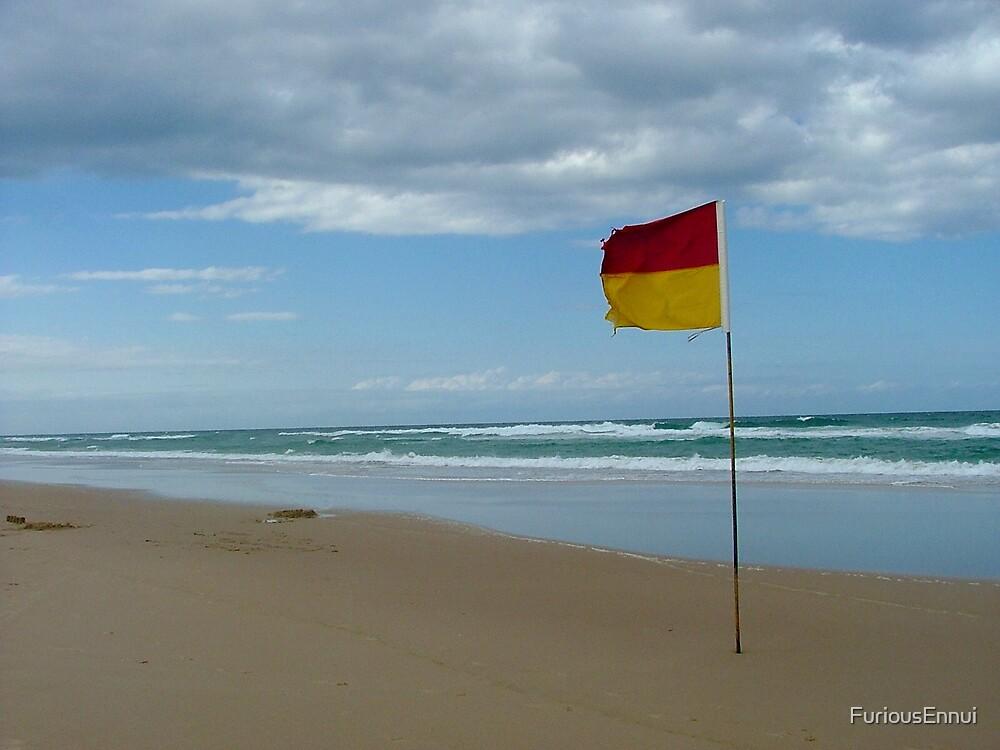 The Surf Flag #1 by FuriousEnnui