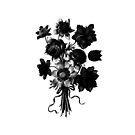 Bouquet in Mono by Catherine Hamilton-Veal  ©