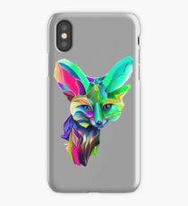 Kaleidoscope Fox Remix; Geometric Beat Poetry iPhone Case/Skin