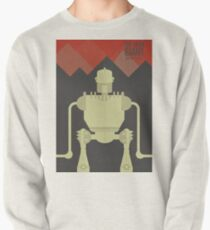 The Iron Giant, animated movie poster, directed by Brad Bird cartoon, illustration Pullover