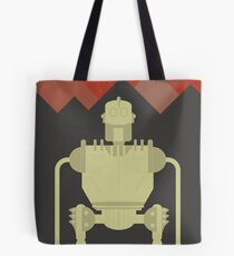 The Iron Giant, animated movie poster, directed by Brad Bird cartoon, illustration Tote Bag