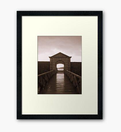 The Gateway Framed Print